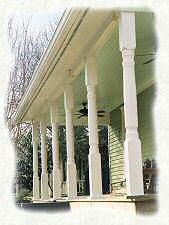 porch column